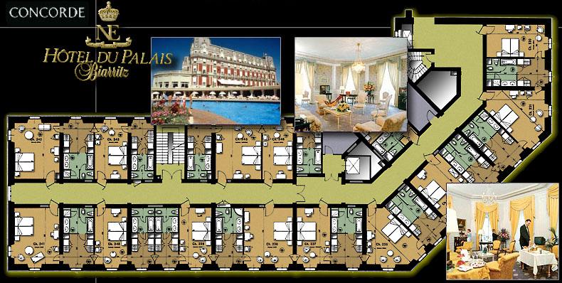 Biarritz hotel du palais renovation des chambres for Prix chambre hotel du palais biarritz